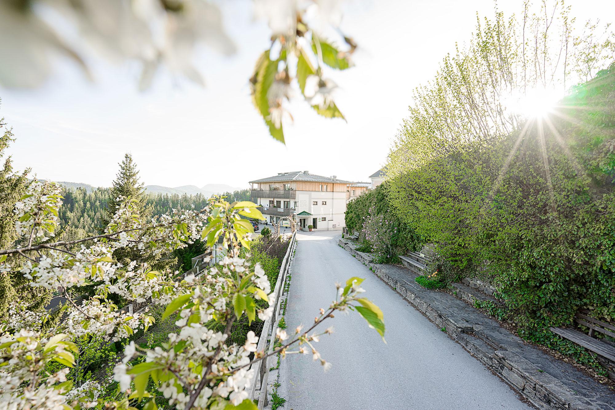 Anfahrt zum Hotel WILDer EDER - Urlaub im Almenland